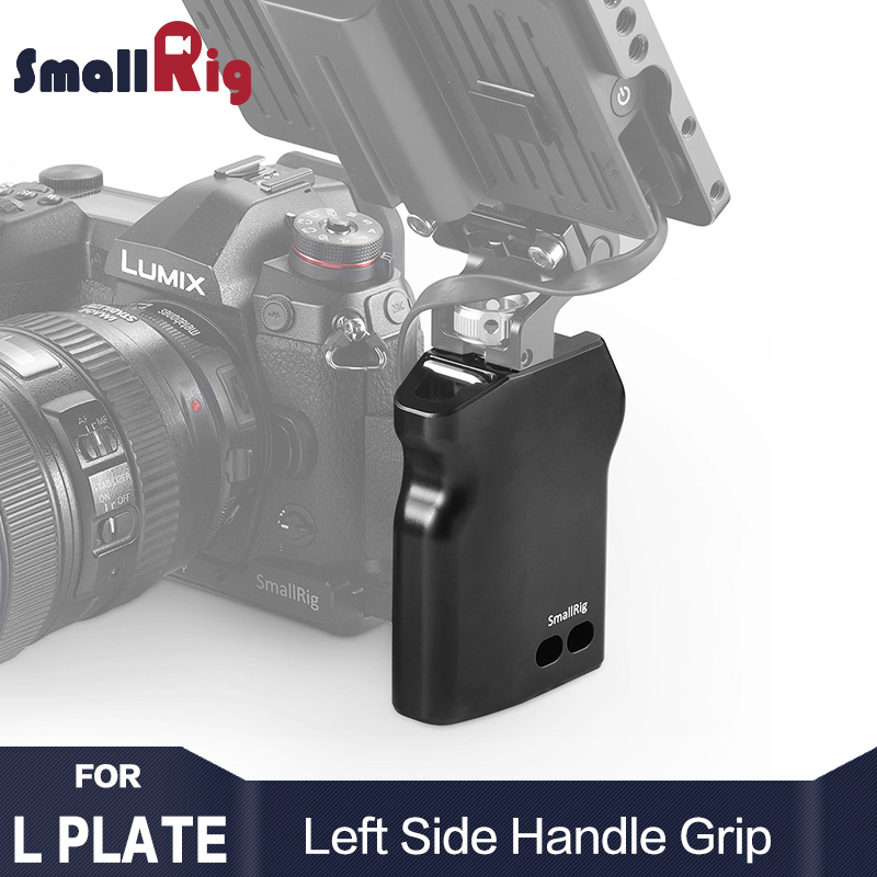 SmallRig DSLR Camera Handle Left Side Grip For L-bracket SmallRig A7M3 L Plate / GH5 L Bracket / Z6 / Z7 Camera L Plate 2218