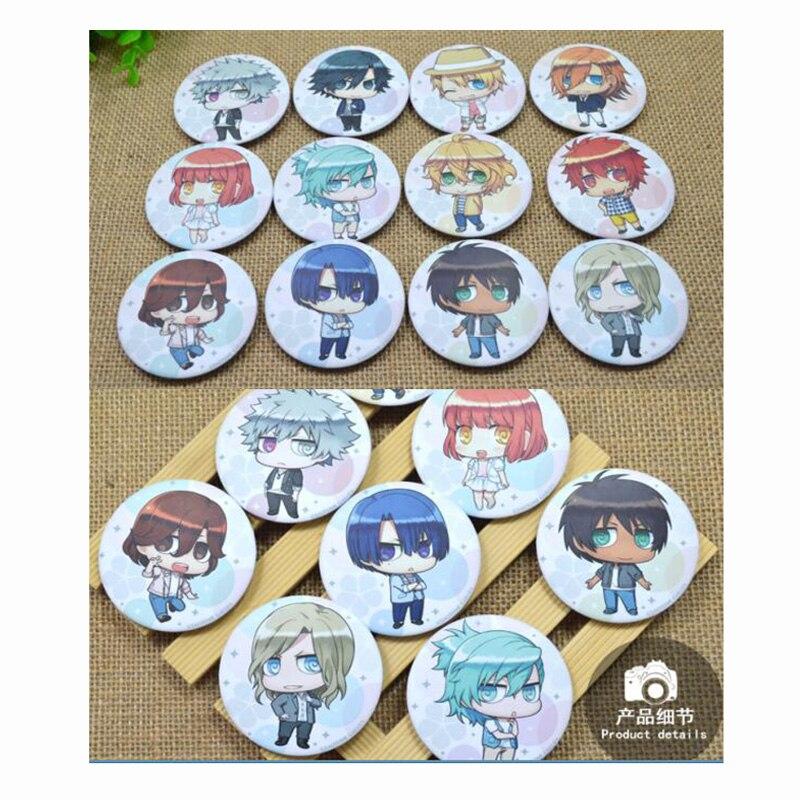 ZXFJXR 58MM Animation Uta no Prince-sama Mikaze Ai Cute Q Version Backpack Badges Icons