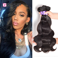 "Gossip Hair Products Indian Virgin Hair Body Wave 3pcs lot Cheap Indian Remy Hair Wet And Wavy Weave 6-28"" Human Hair Extensions"