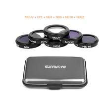 Dla MAVIC2 Zoom filtr neutralny o dużej gęstości aparat soczewki ze szkła optycznego zestaw filtrów dla DJI Mavic 2 Zoom CPL UV Drone akcesoria