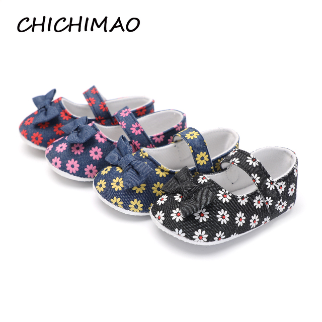 0e6be1128 CHICHIMAO Fashion Toddler Shoes Shallow Baby Shoes Newborn Girl Footwear  For Newborns 0-18 Months 4 Color Spring