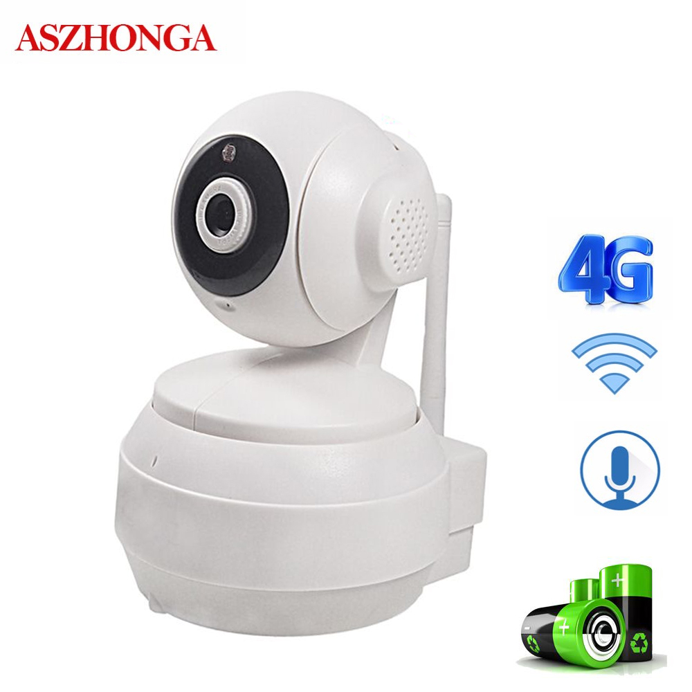 3G 4G GSM SIM Card WiFi IP Camera Wireless Indoor Home Security Cameras 1080P CCTV Surveillance Pan/Tilt/Zoom Night Vision Cam-in Surveillance Cameras from Security & Protection    1