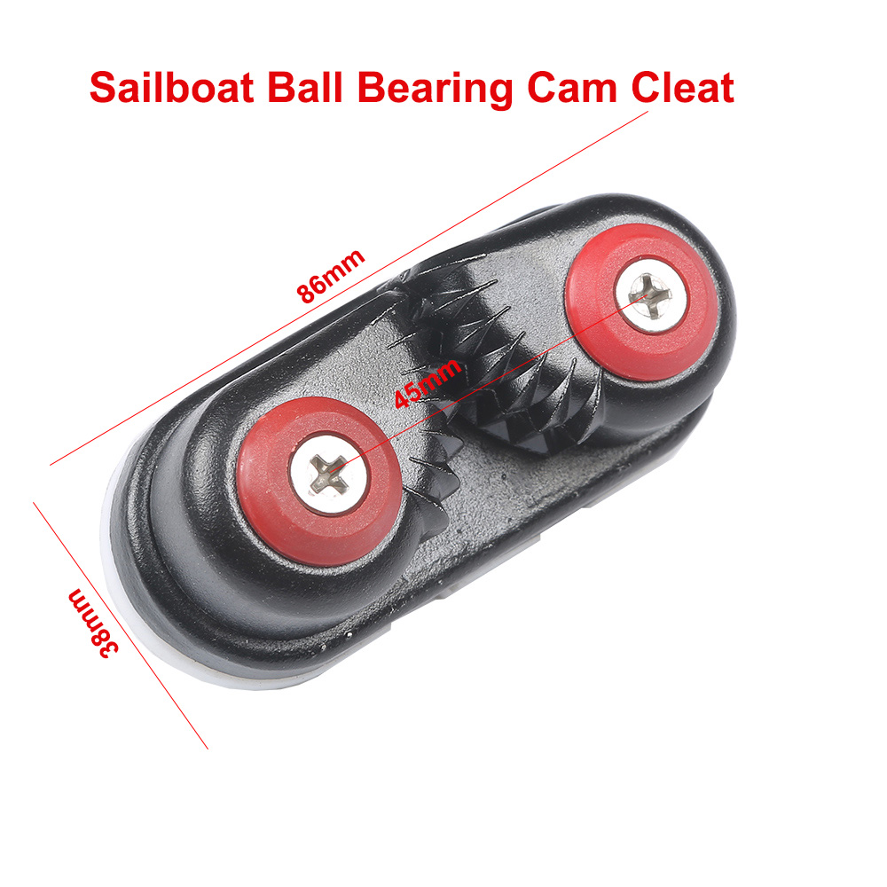 1PC Nylon Fast Entry Cam Cleat for Rope Line Sizes Upto 5//8-Inch 16mm Yacht Boat