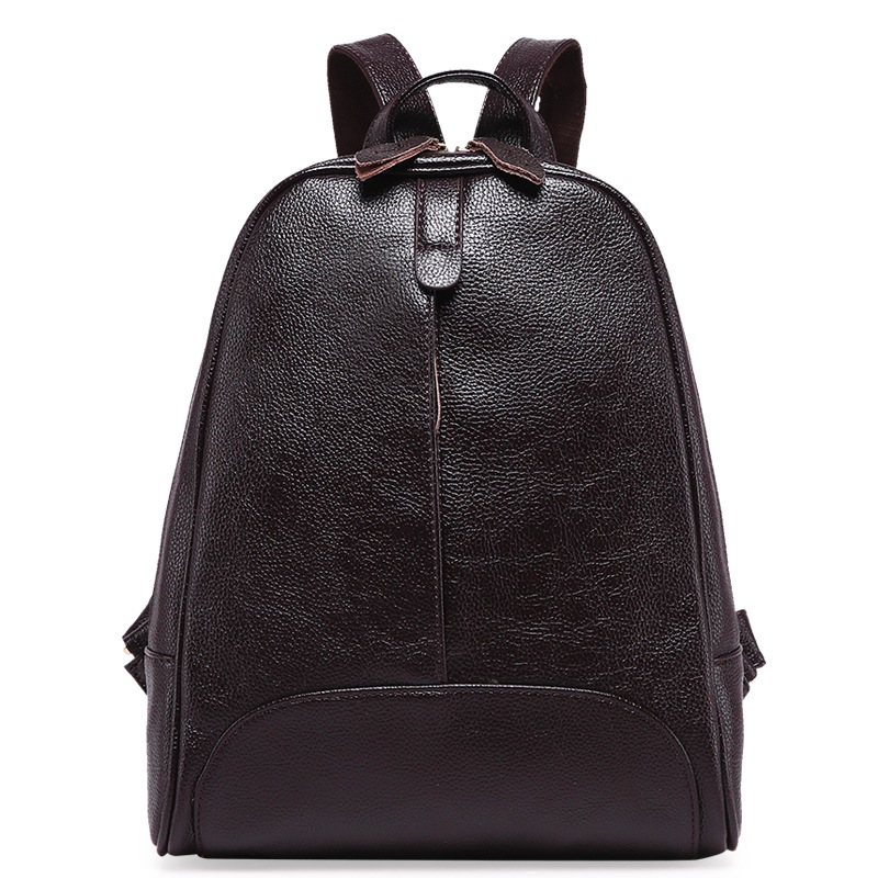 Design Leather Embossed Women's Backpack College Wind School Bag Large Capacity Female Women Travel Backpack For Teenagers Girls