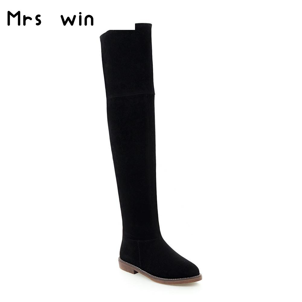 Online Get Cheap Size 13 Thigh High Boots -Aliexpress.com ...