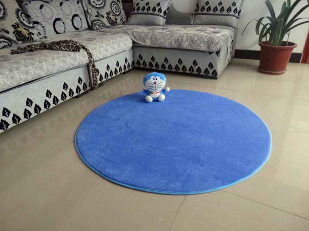 Thick Round Velvet Carpet