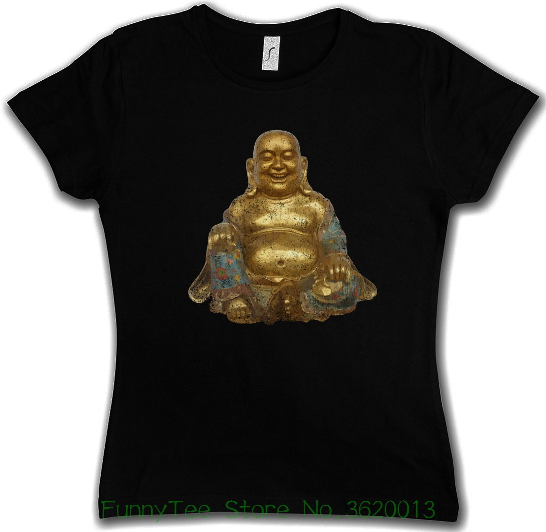 女性のティー仏ヴィンテージgirlieシャツ-ヒンドゥー教仏教siddarthaシヴァインドgovinda良い品質プリコットン