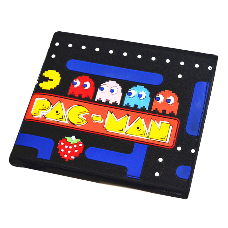 New Arrival Cartoon Game Pac Man Wallet Men And Women Short Wallet With Card Holder Bag For Child Gift