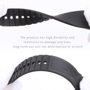 Image 3 - 21MM Silicone WatchBand For Hydro Conquest Conquest L3 41mm 43mm Dial Watch for Explorer2 Wrist Watch Strap Band Bracelet Rubber