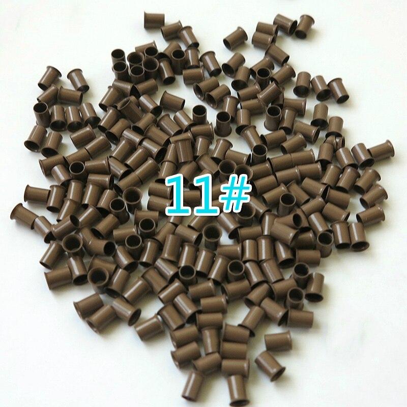 * 6.0 milímetros 1000PCS Cobre Micro Anéis