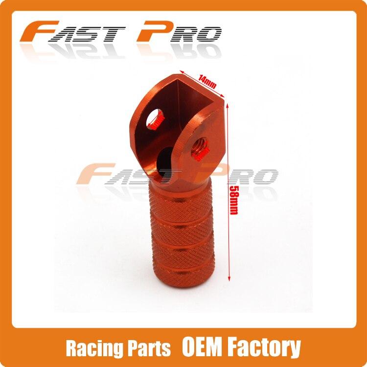 Orange CNC Billet Rim Lock Nuts Spacer Kit For KTM EXC MXC XC XCW XCF SX SXF ALL