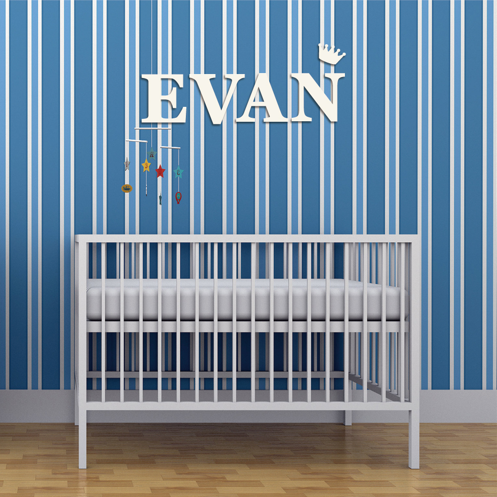 Custom Baby Name Letter Sign Personalized Nursery Letters Wall Decoration Wedding Party Sign Family Living Room Bedroom Decor