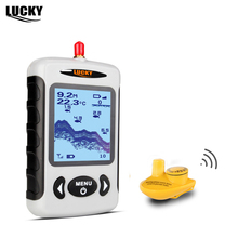 Lucky FFW718 Depth Sonar Fish Finder Wireless Sounder for Fishing Sonar Alarm Fishfinder 100M Depth River