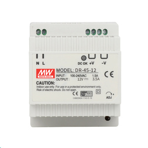 DR-45 45W Single Output 5V 12V