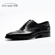 Mens formal shoes leather men dress oxford shoes for men dressing wedding business office shoes lace up male zapatos de hombre