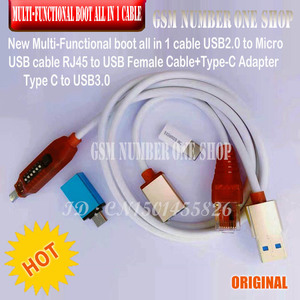 Image 4 - HCU Client HCU Dongle + DC Phoenix และโทรศัพท์ Converter สำหรับ Huawei Micro USB RJ45 Multifunction BOOT ALL IN 1 สาย