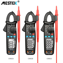 цена на MESTEK True RMS Mini Digital Clamp Meters CM80/81/82 AC/DC Current Voltage Ohm Auto Range VFC Capacitance Non Contact Multimeter