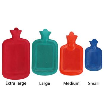 Nowe ocieplenie butelki na wodę ocieplacz na zimę śruba kauczuk naturalny guma wtrysk wody 2 litry litr butelka gorącej wody najwyższa jakość tanie i dobre opinie Ręcznie ocieplenie Pokrywa torby ciepłej wody RUBBER