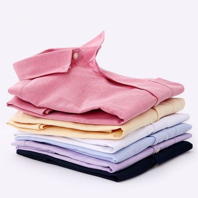 New Hot sale Spring Fashion Brand men's clothing Slim Fit Men's long-sleeved shirt Men pure Cotton Casual Men Shirt Social Plus