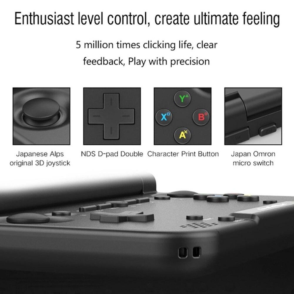 Portable Taille GPD XD PLUS 5 pouce Joueur de Jeu Gamepad 4 gb/32 gb MTK8176 2.1 ghz De Poche Jeu console Joueur de Jeu - 4