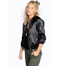 017 Winter Flight army green bomber jacket women and womens coat clothes ladies