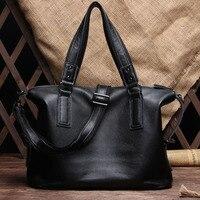 2017 Famous Brand Men S Genuine Leather Bag Briefcase Large Size Computer Bag Laptop Bag Men
