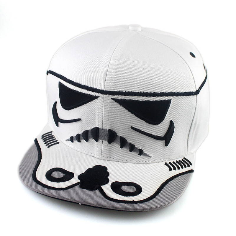 2017 New Fashion Cotton Brand Star Wars Baseball Cap Cool Strapback Letter  Snapback Caps Bboy Hip hop Hats For Men Women-in Baseball Caps from Apparel  ... 9a287893688