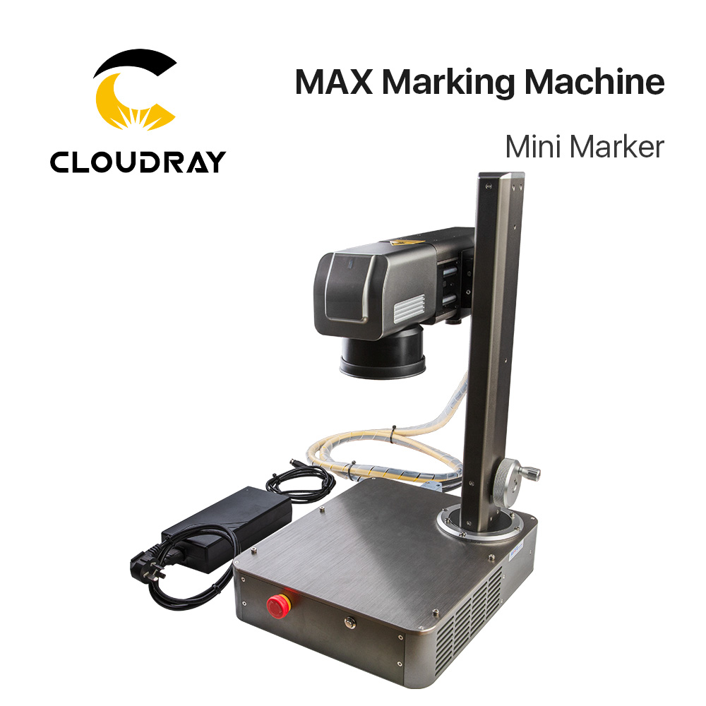 Cloudray 20W Fiber Laser Max Marking Machine Mini Marker For Marking Metal Stainless Steel