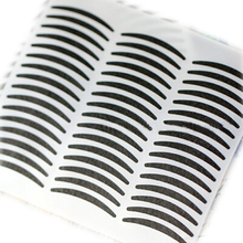 60pcs/set Black Tape Double Side Adhesive Eyelid Sticker Sexy Style Eyes Beauty Eyeliner Sticker 3per/box Each with 20pc Random