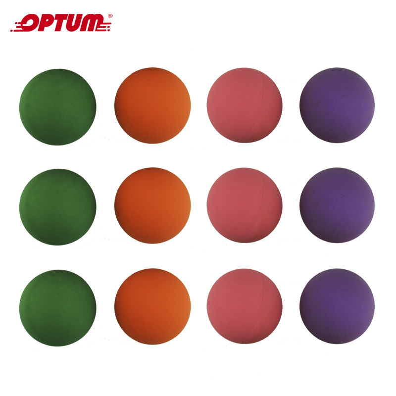 One Dozen Brazilian Frescobol Balls  Beach Game Balls 12pcs Mix Color