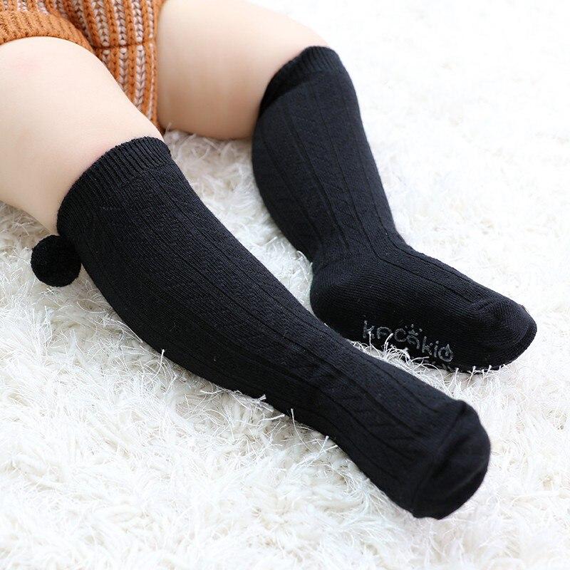 Unisex Children Baby High Socks Fashion Cotton Anti-slip Kids Baby Leg Warmers