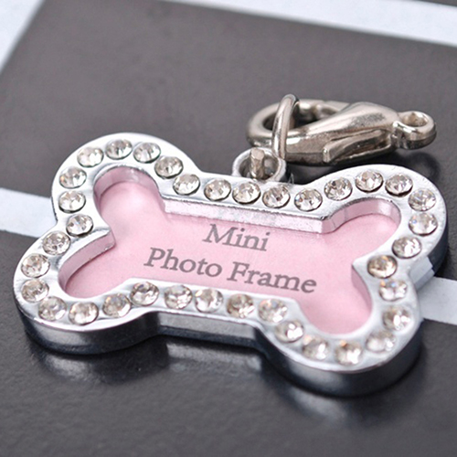 Personalized Bone Shape Pets Id Name Tag Address Pendant Dog Puppy Collar Anti-lost Card Pet Accessories Bone