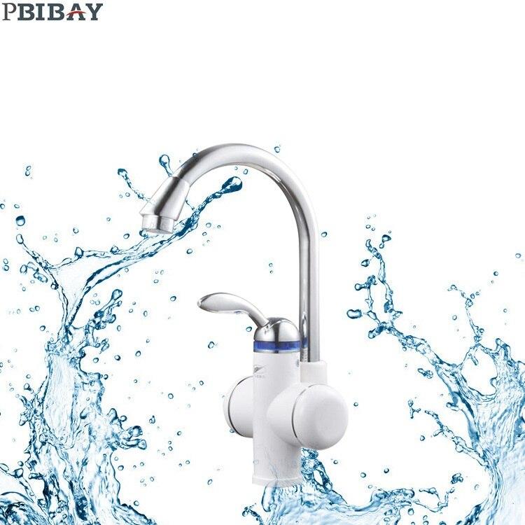 W818-4, 3000 Вт горячая вода кран, мгновенный Электрический водонагреватель, коснитесь Кухня Электрический кран горячей воды, отопление кран ЕС
