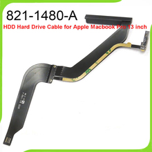 New OEM 821-1480-A HDD Hard Drive Flex Cable For MacBook Pro 13″ A1278 HDD Cable Mid 2012 MD101 MD102 Full Tested