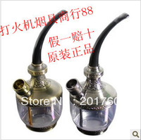 Hookah Classical Fashion Practical Carved Two Site Water Kettle Smoking Pipe Free Shipping ZB 509
