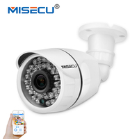 MISECU 2 8mm Metal Wide IP Camera 48V POE 1080P 960P 720P Onvif P2P Motion Detection