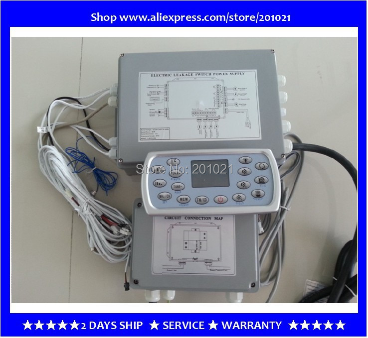 hot tub spa controller pack for 2 3 pump spa