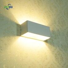 QLTEG LED Wall Lamps 5W 7W AC85-265V Modern Simple Bedroom Lights Indoor Dining-room Corridor COB Lighting Aluminum Material