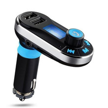 все цены на Bluetooth Wireless FM Transmitter MP3 Player Handsfree Car Kit USB TF SD Remote Dual USB Port Noise Suppression онлайн