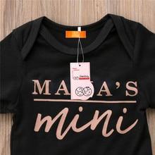 Daddy's mini Mommy's mini Baby Romper