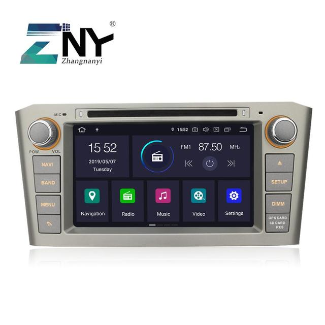 """Android 9.0 Car DVD Stereo 2 Din Auto Radio For Toyota Avensis T25 2003-2008 7"""" IPS Multimedia FM RDS GPS Navigation 4+32GB"""