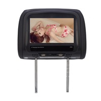 8 inch Car Headrest Monitor MP4/MP5 Pillow Monitor Support Bluetooth IR FM with Touch Screen