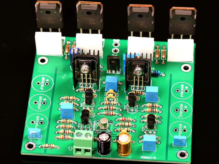 Goldmund Line 1 Channel Power Amplifier Board (Class A Quiescent Current Is Freely Adjusted