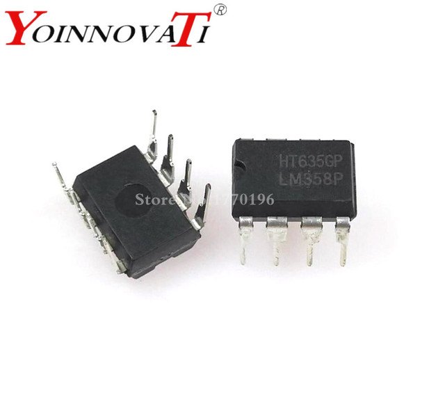 100pcs LM358 LM358N LM358P DIP8 integrated circuits