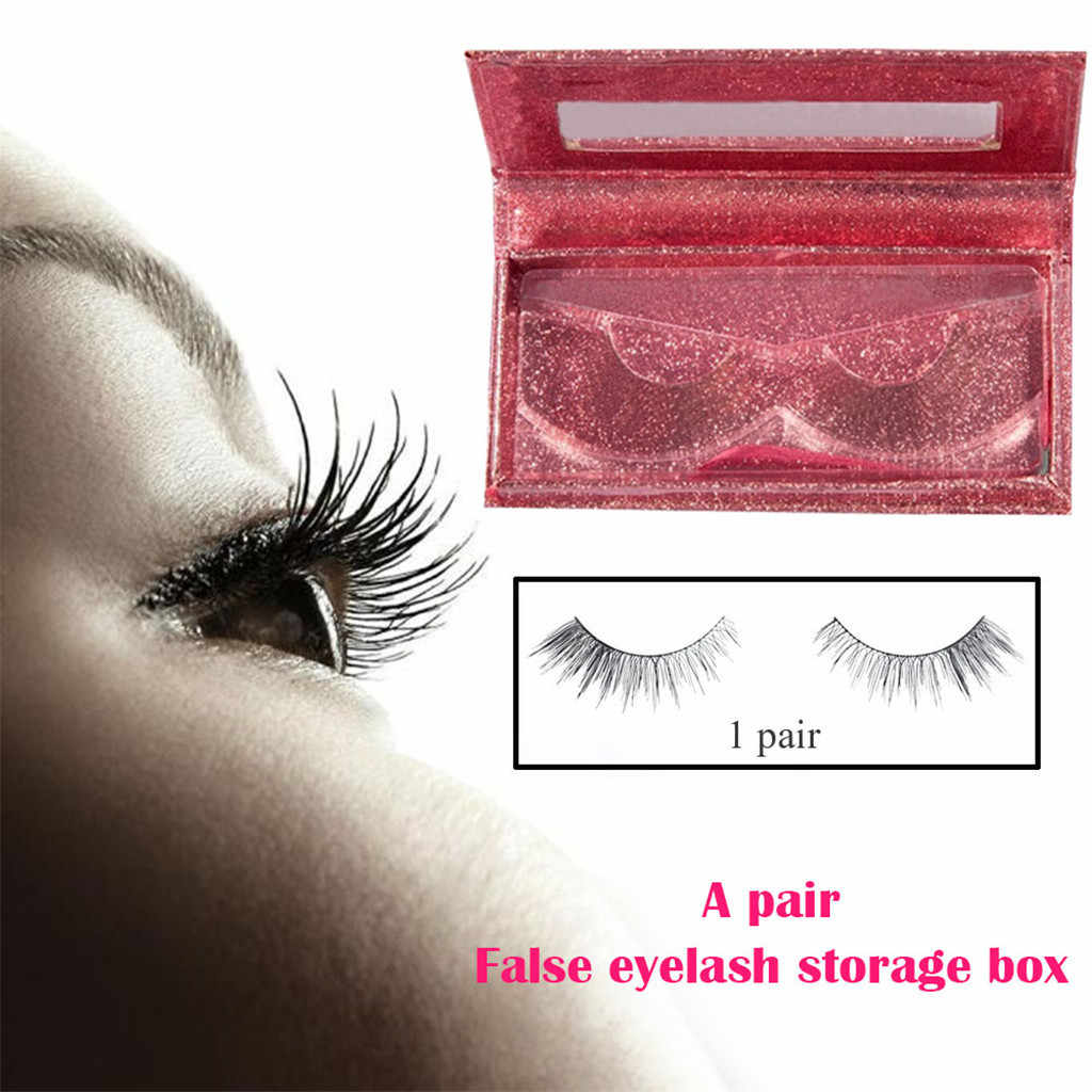Empty False Eyelashes Care Storage Case Box Container Holder Compartment Tools Fake Eyes Lashes Makeup Cosmetic Storage 19APRI9