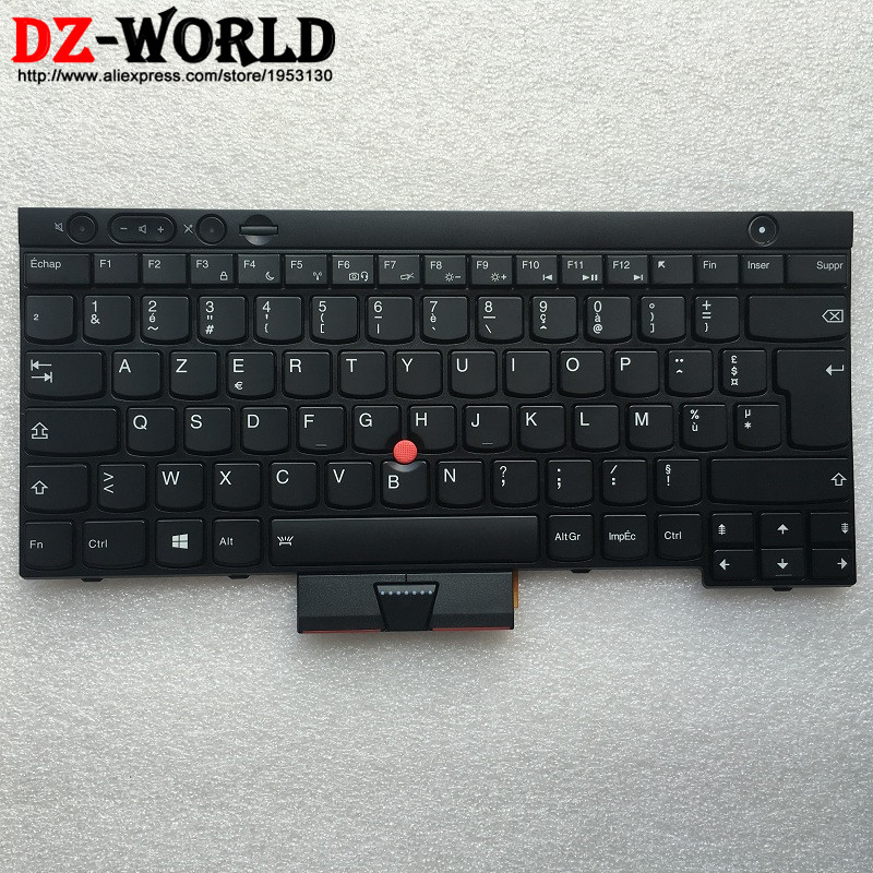 New Original for Lenovo Thinkpad X230 X230i X230T X230 tablet Backlit French Keyboard Teclado 04X1251 04X1364 0C01934 new notebook laptop keyboard for dell studio 15 1535 1536 1537 0kr770 backlit french layout