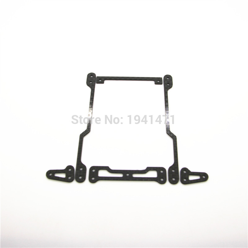RFDTYGR 1.5mm Carbon Fiber Handing Damper For Body Slam of The VS and S2 Chasis Custom Parts For Tamiya MINI 4WD C026 1Pcs/lot