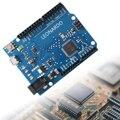 Funduino Леонардо R3 Доска-Совместимый для Arduino ATmega32u4 + Кабель Micro Usb TE169