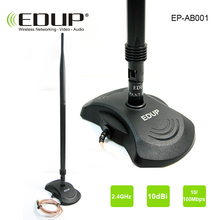 High gain 10dBi wifi Antenna 802.11n for wifi adapter router and repeater EDUP strong signal 2.4ghz wifi antenna