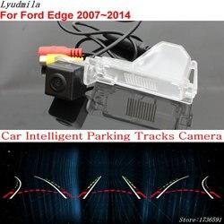 Mobil Parkir Cerdas Trek Kamera untuk Ford Explorer U251 2006 ~ 2010 Edge 2007 ~ 2014 Mobil Back Up Reverse kamera Belakang Belakang